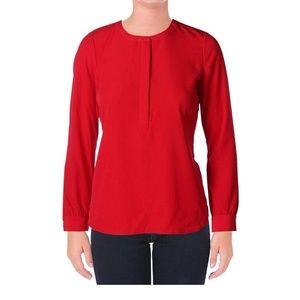 NYDJ Long Sleeve Blouse Woven Tunic